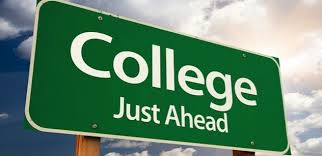 College - Just ahead