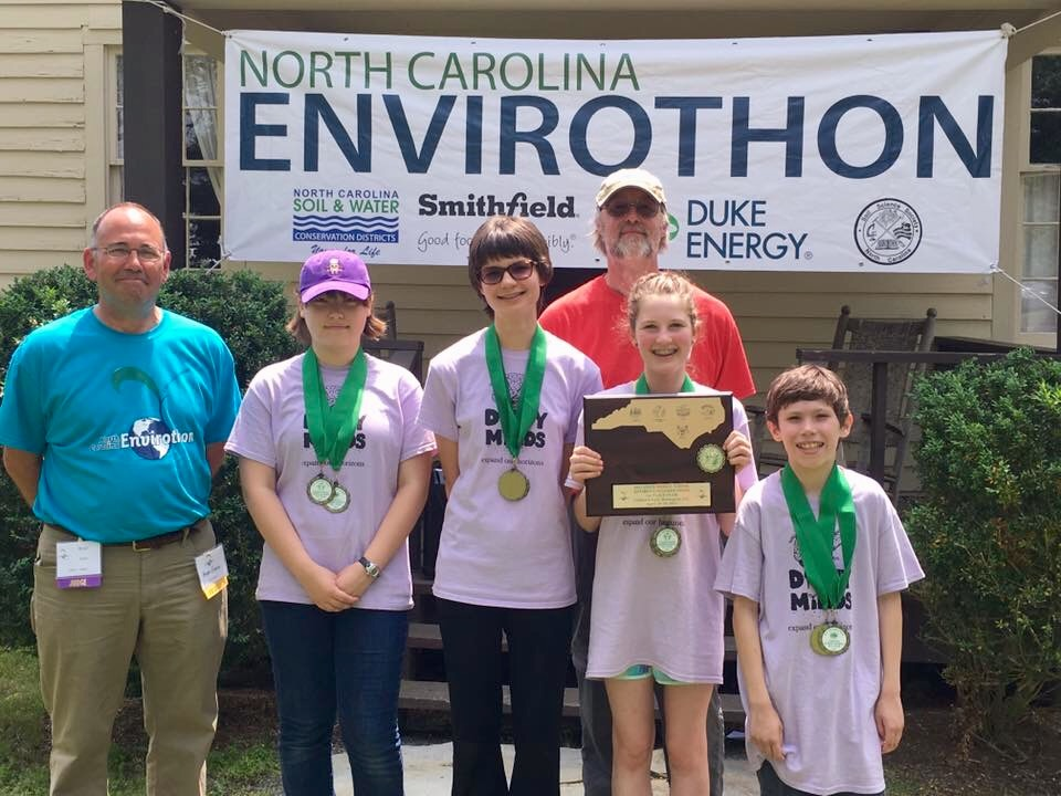 MS Envirothon State Champions