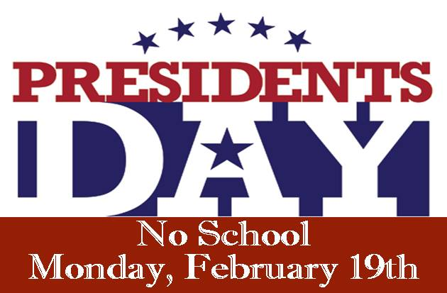 School closed Pres Day
