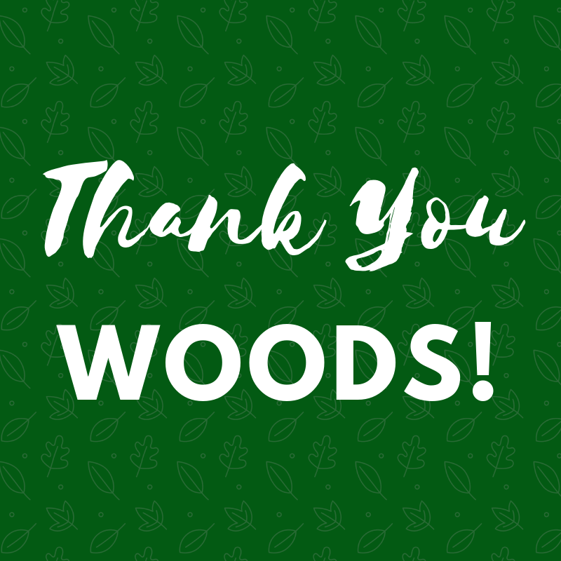 Thank you Woods