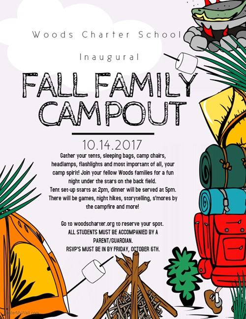 K 12 Fall Family Campout