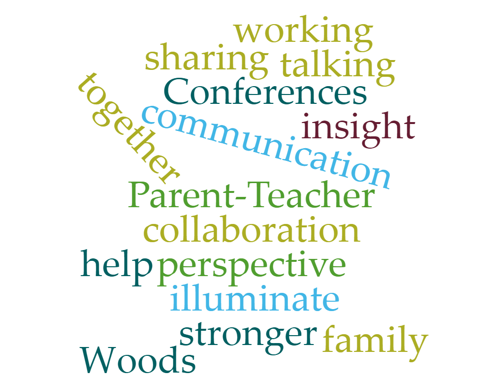 P-T Conferences word cloud
